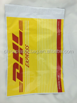clear poly bags & poly envelopes for foreign trading used by internationally famous express company
