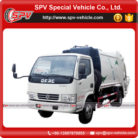 Environment protecting 8 cbm Dongfeng garbage collection vehicle