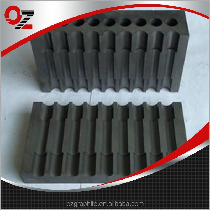 graphite mold for glass casting