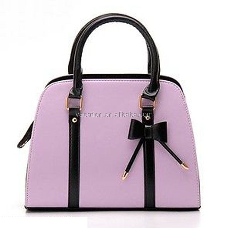 mexican trend mauve leather handbags