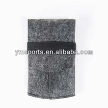 New grey hard woolen phone case with waist strap for sangsung galaxy