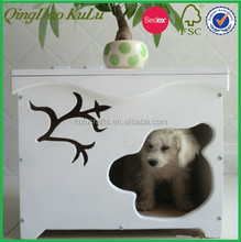 new small indoor nature wood dog house for sale