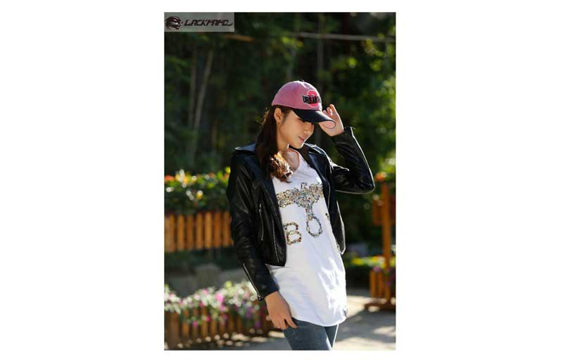 General corduroy PU leather 3D and flat embroidered sports hats