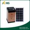 Powerful LED solar lighting system with 3W/9V solar panel, solar camping system, solar storage lantern