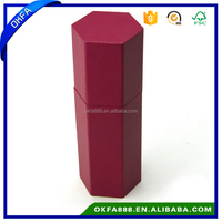 chinese supplier recycle new design hexagon paper gift box