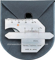 High Quality Welding Gauge / Stainless Steel / with Soft Case / Made in Japan / Measuring Tools