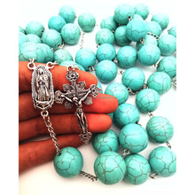 Turquoise Wall Rosary Wall Hanging Decoration