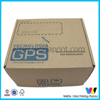 corrugated packaging box for GPS