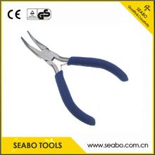 Factory customized sheet metal bending pliers with wooden handle
