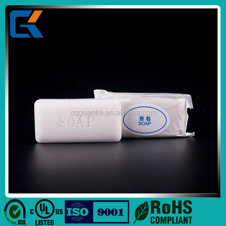Promotional white small cheap disposable soap for hotel