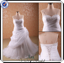 JJ2941 Beaded Sweetheart Ball Gown Organza Wedding gowns for fat girl
