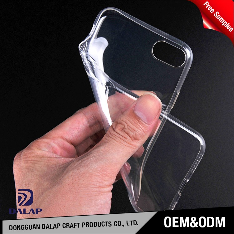 China supplier wholesale clear tpu mobile phone case for iphone 7/7 plus