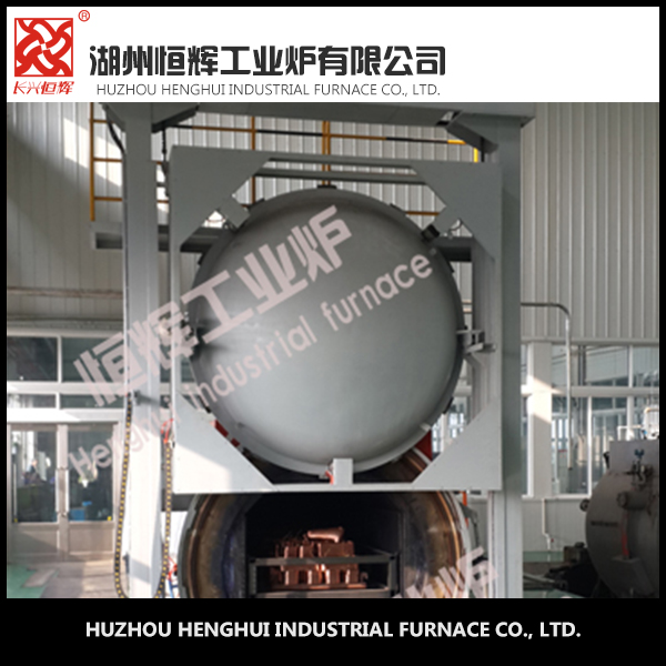 150KW Full automatic vacuum furnace copper pieces used annealing furnace
