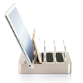 Portable Charging Station Dock & Organizer for SmartPhones & Tablets