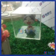 High quality new style plastic display cases / cabinet for model cars / figure acrylic display case