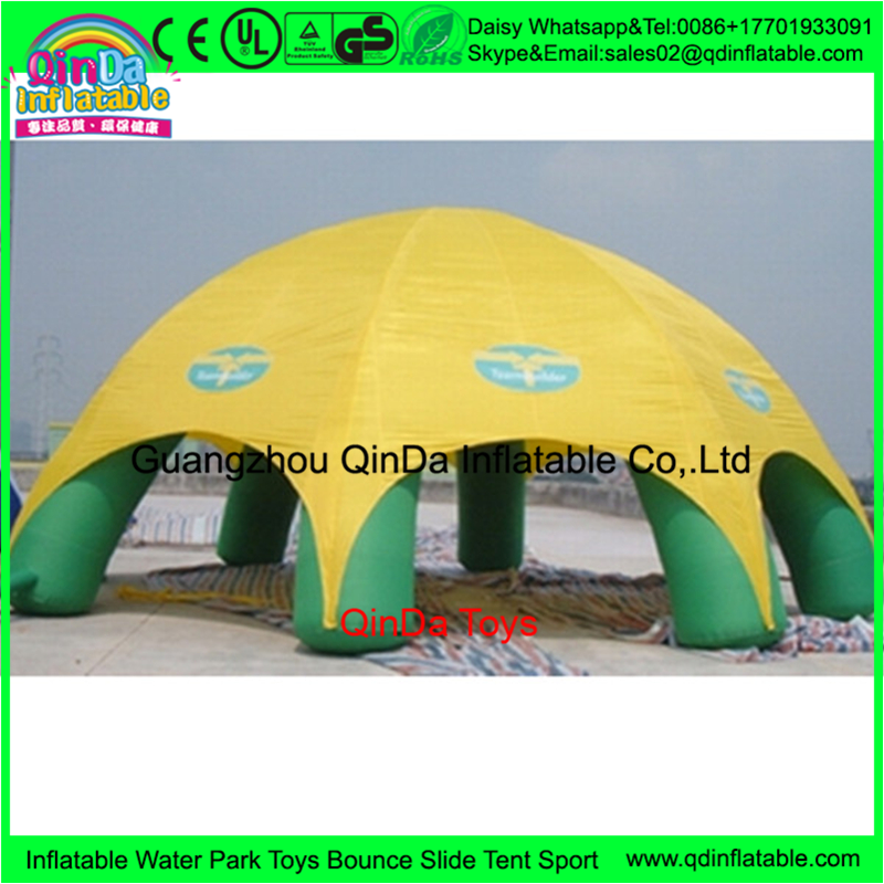 Outdoor Event inflatable eight legs tent,inflatable lawn event tent for sale