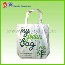 Hot Sale White Organic Tote Cotton Bag