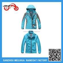 Fashion girls factory wholesale reversible woman Ski Jacket with hood