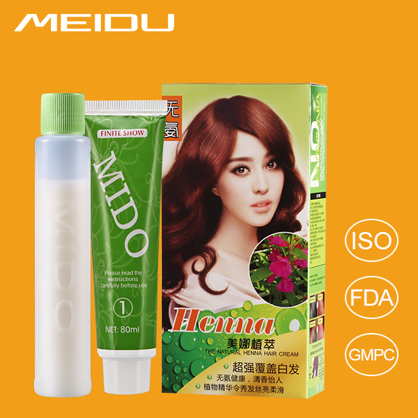 China Hair Dye Cream Manufacturer OEM Private Label Ammonia Free Cover Grey Hair Dye Kit With Cheap Price
