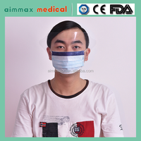 disposable surgical face mask/ bulk production face mask manufacturer china with certificate approved