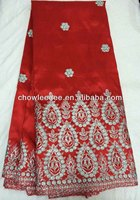 2014 Hot design on sale ,George silk raw material ,latest products of CL 3083-2,Red