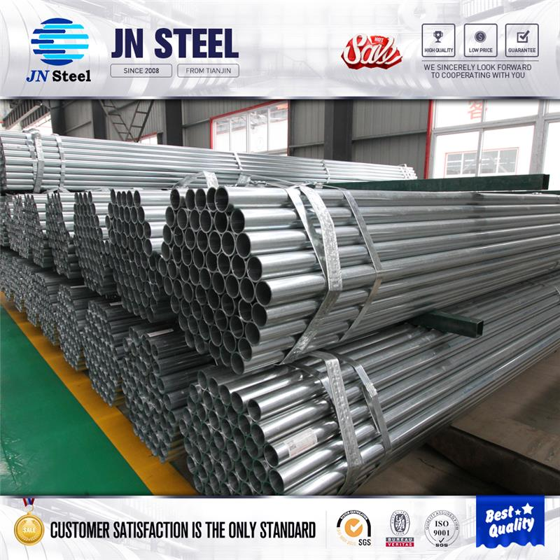 underground gas pipe electrical wire conduit hot galvanized steel pipe Galvanized carbon steel pipes