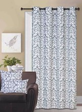 Fashion European Style Jacquard Window Curtain