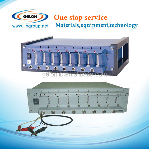 mobile phone battery tester with charge /discharge for battery producing and lab research