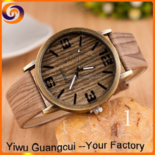2016 new quartz tree lines grain Europe and America hot sale men leather watch