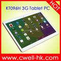 9.6 inch Dual SIM card Quad core 1GB RAM 16GB ROM WCDMA 3G android 4.4 super smart tablet pc PS-KT096H