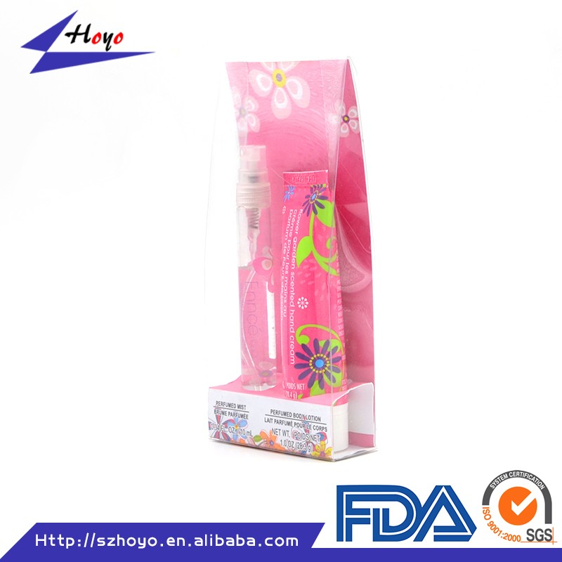 New Design Cute Packaging Box For Cosmetic/ Raw Material PET Plastic Box