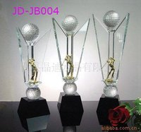 Hot sale sports souvenirs of the crystal trophy in china markets