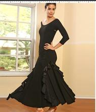 OCTM020 Fashionable Western Ladies Modern Costumes Ballroom Competition Dress