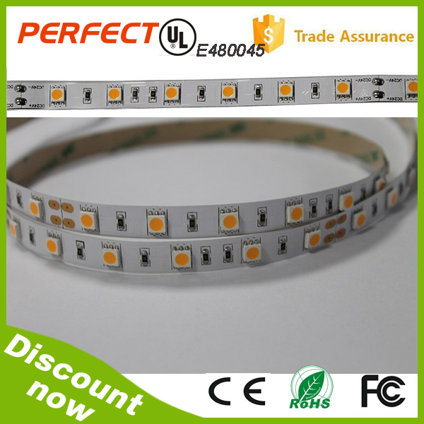 Factory online Store ! Hot SMD5050 flexible led strip light 12V/24V, 2700K/3000K/4000K/6000K are available,50mm/10mm cuttable
