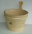 high quality sauna series accesories Classic wooden bucket and spoon for sauna room