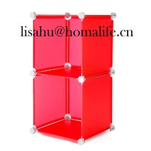 Home polyester zipper storage box with ribbon