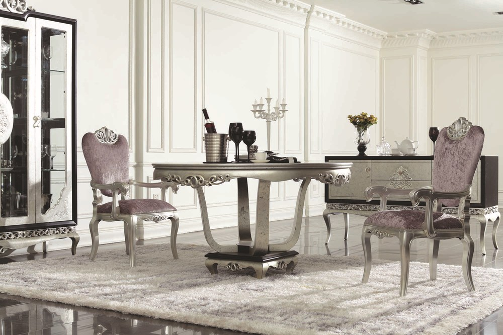 china guangzhou,foshan dining room furniture,throne antique silver