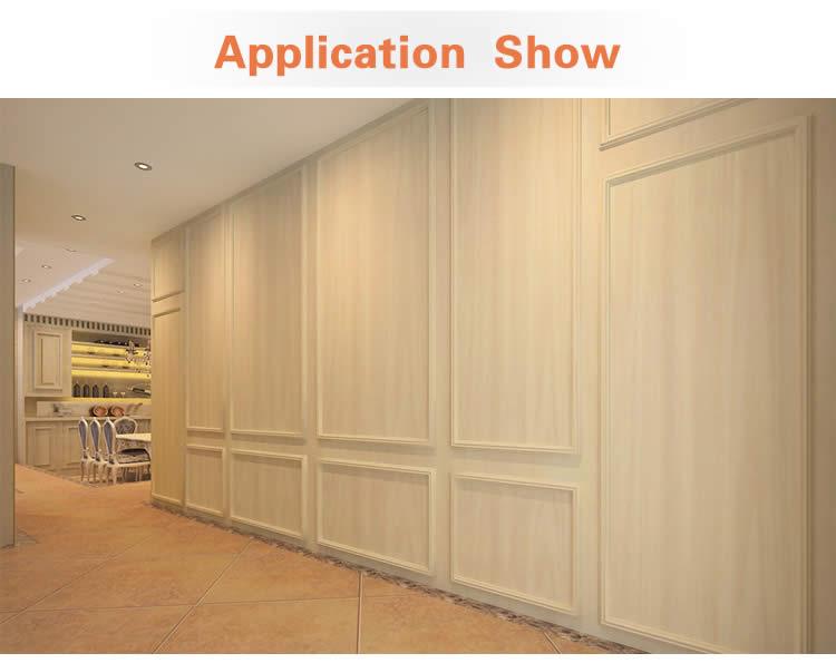 Bamboo wood laminate decorative wallboard /waterproof /fireproof ...