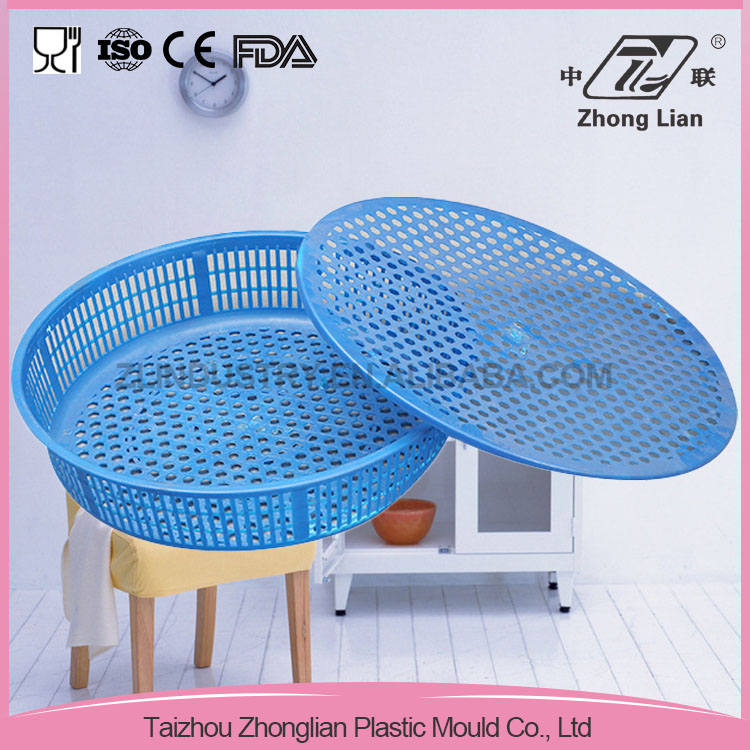 Home application good offer plastic stack vegetable basket
