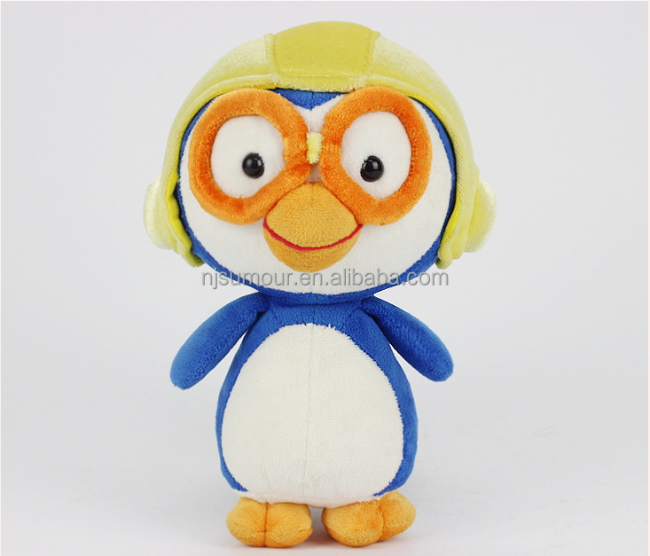 plush penguin toy stuffed penguin with glasses toy penguin with hat cute baby toy