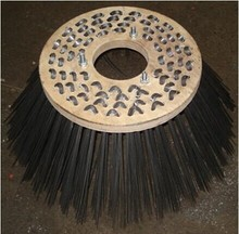 Nilfisk road sweeper side brush.