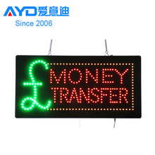 New Procuct! Tpye of LED Sign for Money Transfer/Exchange