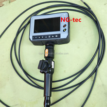 2ways borescope endoscope IP67 waterproof drain pipe weld inspection camera with 5.5mm 7m tube