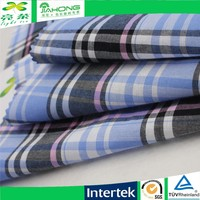 60*60 110*70 100 cotton check poplin fabric
