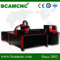 High Accurracy sheet metal working machine BCAMCNC BCJ1325 Fiber laser 1000w