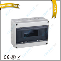 ip65 12 ways Electrical Waterproof power yueqing Abs Distribution board