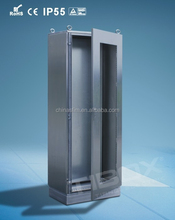 TIBOX stainless steel and glass kitchen cabinet/stainless steel box with glazed door