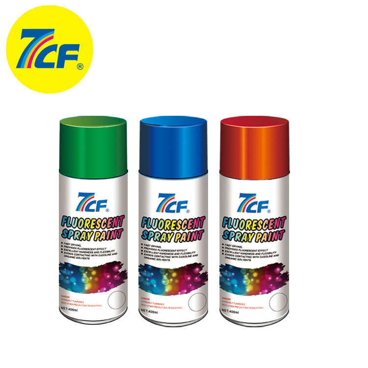 7CF High Quality Free Sample Acrylic Multi- color Child Safe Aerosol Spray <strong>Paint</strong>