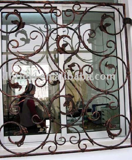 Rejas decorativas rejas de hierro decorativos tpico con - Rejas decorativas ...