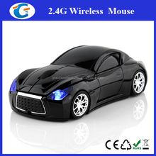 Race car shape funny 1600DPI standard size computer mouse